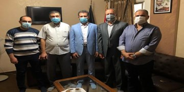 دیدار مقامات جهاد اسلامی و حماس در لبنان با یکدیگر