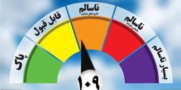 کیفیت هوای ۴ منطقه مشهد در شرایط ناسالم برای گروههای حساس قرار گرفت