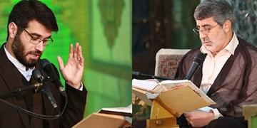 دعاخوانی دو مداح سرشناس در فضای مجازی