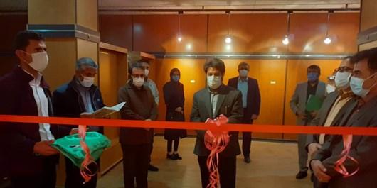 افتتاح نمایشگاه خوشنویسی هفته وحدت در یاسوج+تصاویر