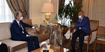 دیدار نماینده سازمان ملل در امور سوریه با دبیر کل اتحادیه عرب