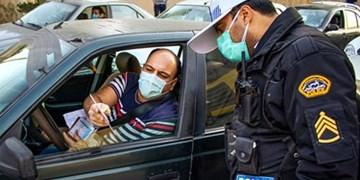 جریمه کرونایی ۷ هزار خودرو و پلمب ۴۰ واحد صنفی متخلف در۲۴ ساعت گذشته