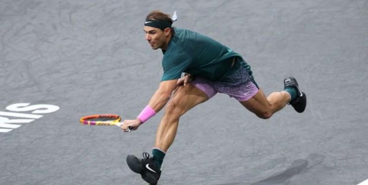 تنیس مسترز پاریس  نادال راهی یکچهارم شد