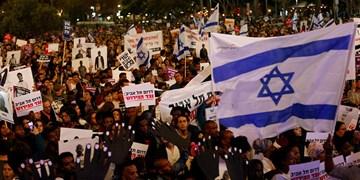 تظاهرات علیه نتانیاهو وارد بیستمین هفته متوالی شد