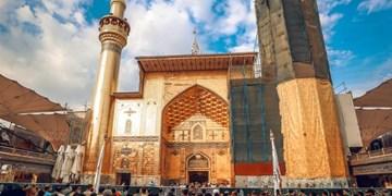 ایرانیها بازسازی  ایوان نجف را در تابستان ۱۴۰۱ تمام میکنند+تصاویر