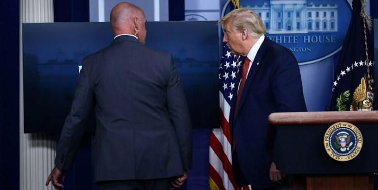 نیوزویک: در صورت امتناع ترامپ از ترک قدرت سرویس مخفی وی را خارج خواهد کرد