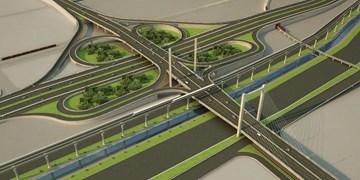 فارس من| احداث پل داروپخش با هدف کاهش بارترافیکی میدان وحدت