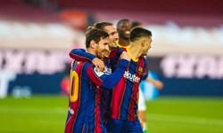 خلاصه بازی بارسلونا 5 - رئال بتیس 2؛ مسی سرانجام درخشید