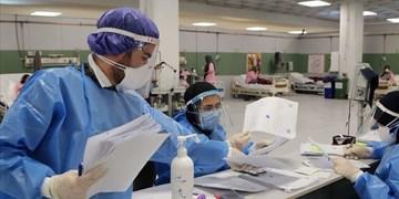 فیلم| روزهای کرونایی پرستاران بیمارستان زرند