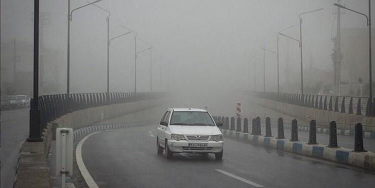 بارش برف و باران در محورهای 12 استان / تردد روان در جادهها