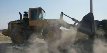 تخریب ۱۴۵ مورد ساختوساز غیرمجاز در ملارد