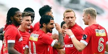 لیگ فوتبال بلژیک|تساوی آنتورپ بدون بیرانوند