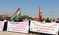 ایزدیهای عراق خواستار اخراج پ.ک.ک از سنجار شدند