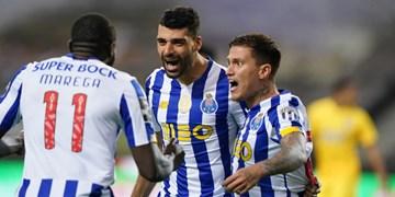 هفته هشتم لیگ پرتغال|پیروزی پورتو در حضور 65 دقیقهای طارمی