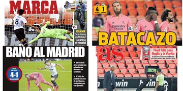 باخت زجرآور رئال با نهایت تعداد پنالتی؛ مادرید له و لورده شد/ نگاهی به مطبوعات اسپانیا