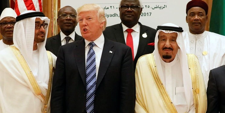 «یتیمان ترامپ»؛ کاربران عربی، حکام عرب را به سخره گرفتند