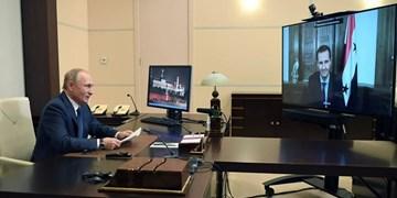پوتین: کانون تروریسم بینالمللی در سوریه از بین رفته است/ اسد: اولویت دمشق بازگرداندن آوارگان سوری است