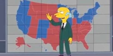 ماجرای پیشبینی انتخابات آمریکا توسط سیمپسونها
