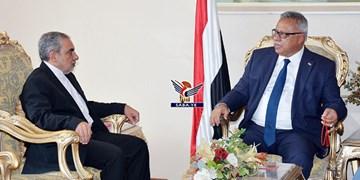دیدار سفیر ایران با نخستوزیر دولت نجات ملی یمن