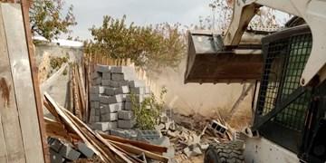 آزادسازی ۱۶ هزار مترمربع اراضی کشاورزی در باباسلمان شهرقدس