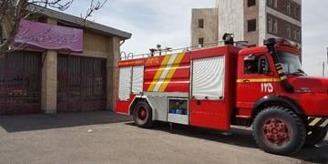 استقرار خودروهای عملیاتی آتشنشانی قم در مراکز تجمع/ گشتزنی در رینگ حرم مطهر و مسجد جمکران