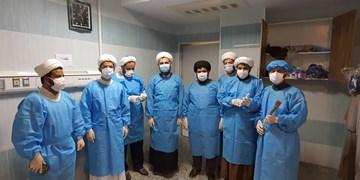 اجرای مرحله دوم طرح جهادی «همراه بیمار» توسط طلاب بوشهر