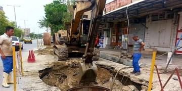 شبکه گذاری طرح فاضلاب در مناطق جنوبی بوشهر در دستور کار قرار گرفت