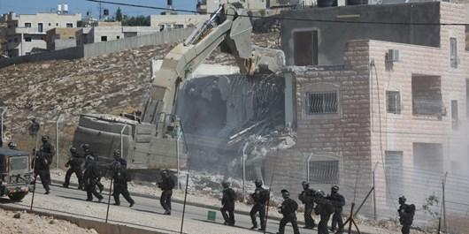 صهیونیستها 69 خانه فلسطینیها را طی 2 هفته تخریب کردند