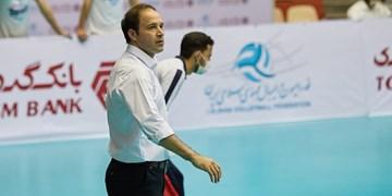 لیگ برتر والیبال  سرمربی شهرداری ورامین اخراج شد