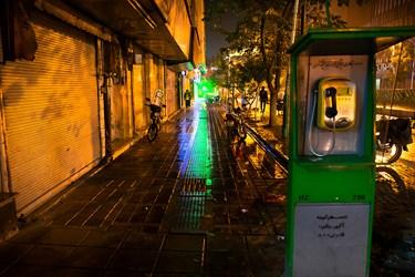 تهران بعد از ساعت ۱۸ خیابان جهوری