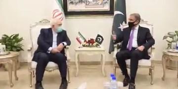 وزیر خارجه پاکستان در دیدار ظریف: اجازه اقدامات خصمانه علیه ایران را نخواهیم داد
