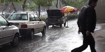 بارشها تا دوشنبه هفته آینده در کرمانشاه ادامه دارد/ بارش برف در ارتفاعات استان