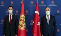 دیدار وزرای خارجه ترکیه و قرقیزستان؛ محور دیدار تقویت همکاری در زمینه ترانزیت