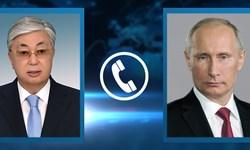 گفتوگوی تلفنی رئیس جمهور قزاقستان با سران روسیه، ازبکستان و قطر