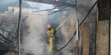 بی احتیاطی در پخت نان، 6 خودرو را به آتش کشید
