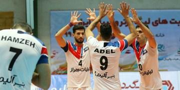 لیگ برتر والیبال| تداوم پیروزی آملیها/ ورامین هم مغلوب شاگردان عطایی شد