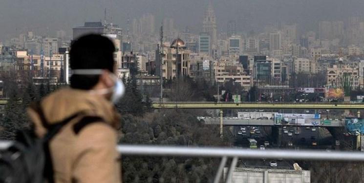 تداوم آلودگی هوای تهران/ تعداد روزهای پاک پایتخت