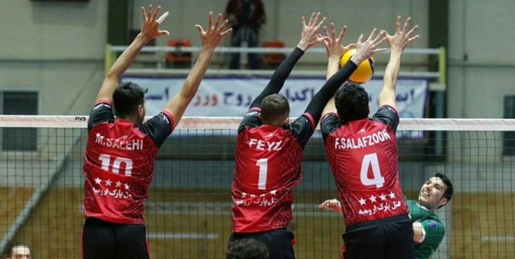 لیگ برتر والیبال| بازگشت شهرداری ارومیه به مسیر پیروزی/ راهیاب ملل بازهم باخت