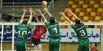 لیگ برتر والیبال| راهیاب ملل از سد شهرداری قزوین گذشت