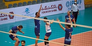 لیگ یک والیبال کشور   آملیها فاتح شهرآورد مازندرانی در کشور