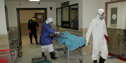 بستری شدن ۶۶ بیمار جدید کرونایی در استان اردبیل/ وضعیت ۴ شهرستان همچنان بحرانی و قرمز