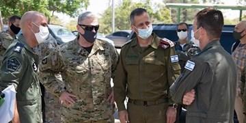 رایزنی رئیس ستاد مشترک ارتش رژیم صهیونیستی با همتای آمریکایی