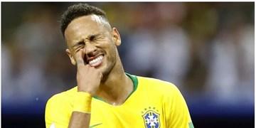 نیمار از اردوی تیم ملی برزیل خارج شد