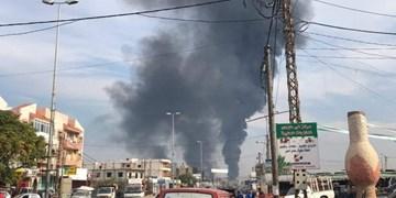 انفجار در خط لوله نفت در شمال لبنان