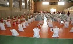 تهیه و توزیع 1700 بسته معیشتی توسط جمعیت هلالاحمر استان