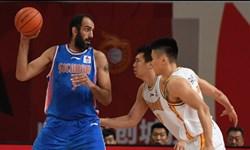 لیگ بسکتبال چین| پیروزی سیچوآن با نمایش فوق العاده حدادی