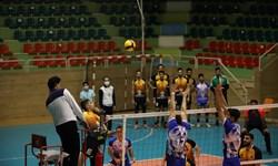 نخستین پیروزی رعد قم در لیگ دسته اول والیبال