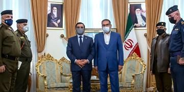 دیدار وزیر دفاع عراق با دبیر شورای عالی امنیت ملی