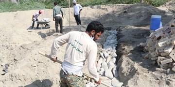 جهادگران «سیریک» در مسیر رفع محرومیتها/ رزمایش جهادی «مرمت مؤمنانه» در جوار سواحل مکران+تصاویر