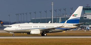 فرود یک هواپیمای اماراتی در فرودگاه «بن گوریون» رژیم صهیونیستی